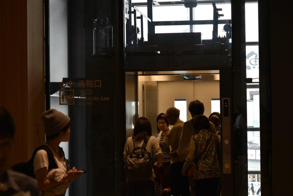 新JR高山駅 エレベーター