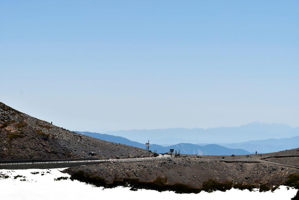 乗鞍岳の景観