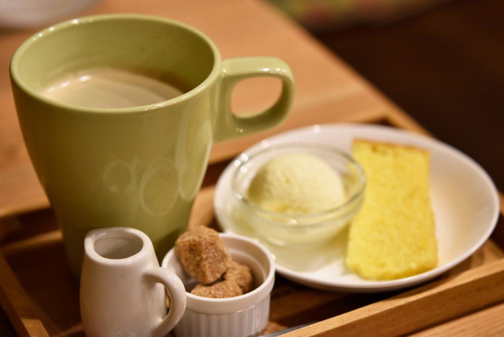 ランチセット デザート+100円コーヒー