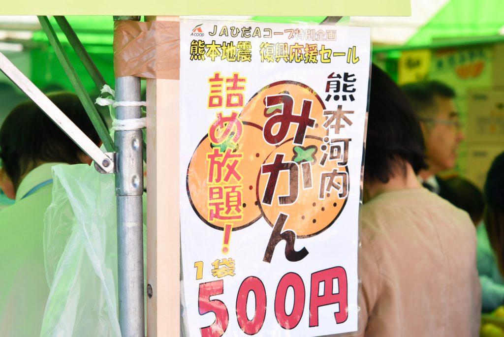 熊本河内 みかん 詰め放題 500円