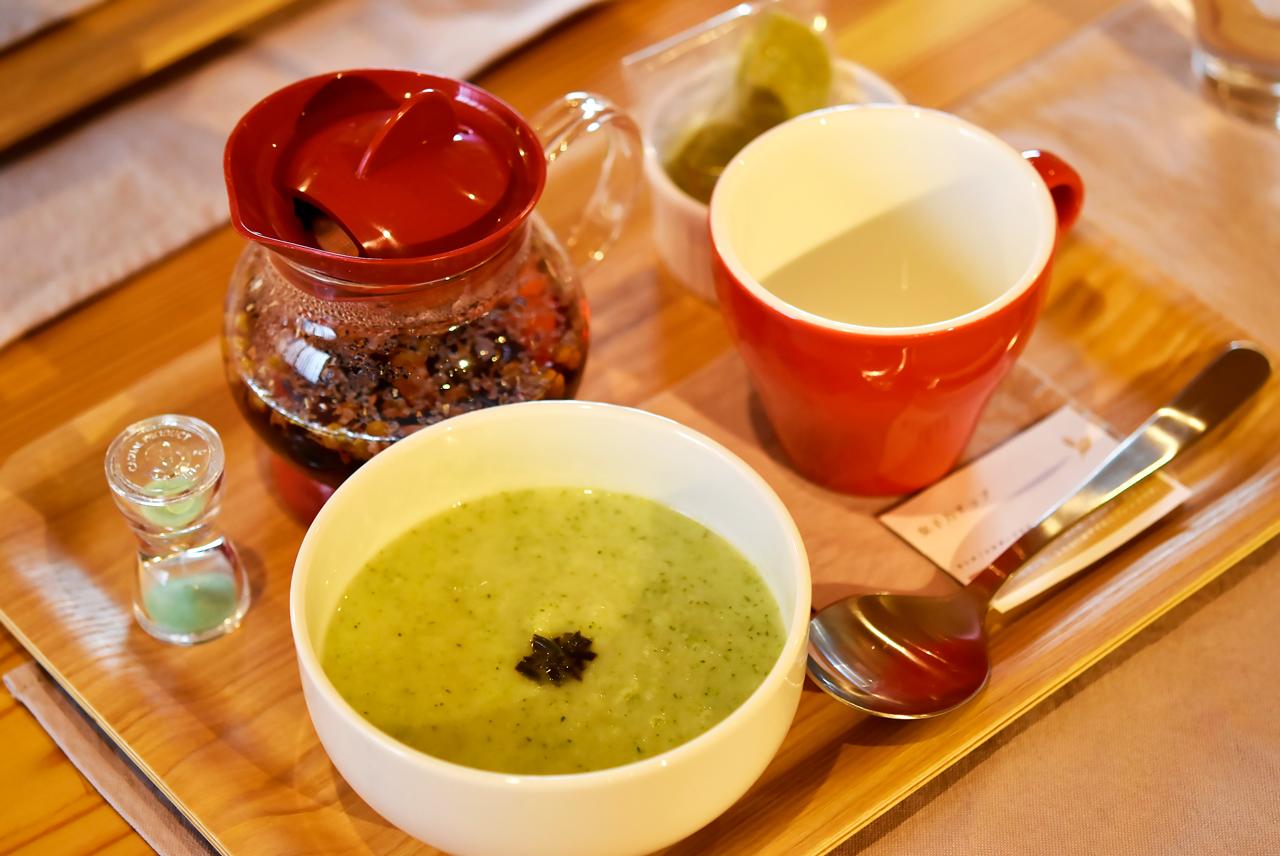 めぐみ家のスープ ハーブティー