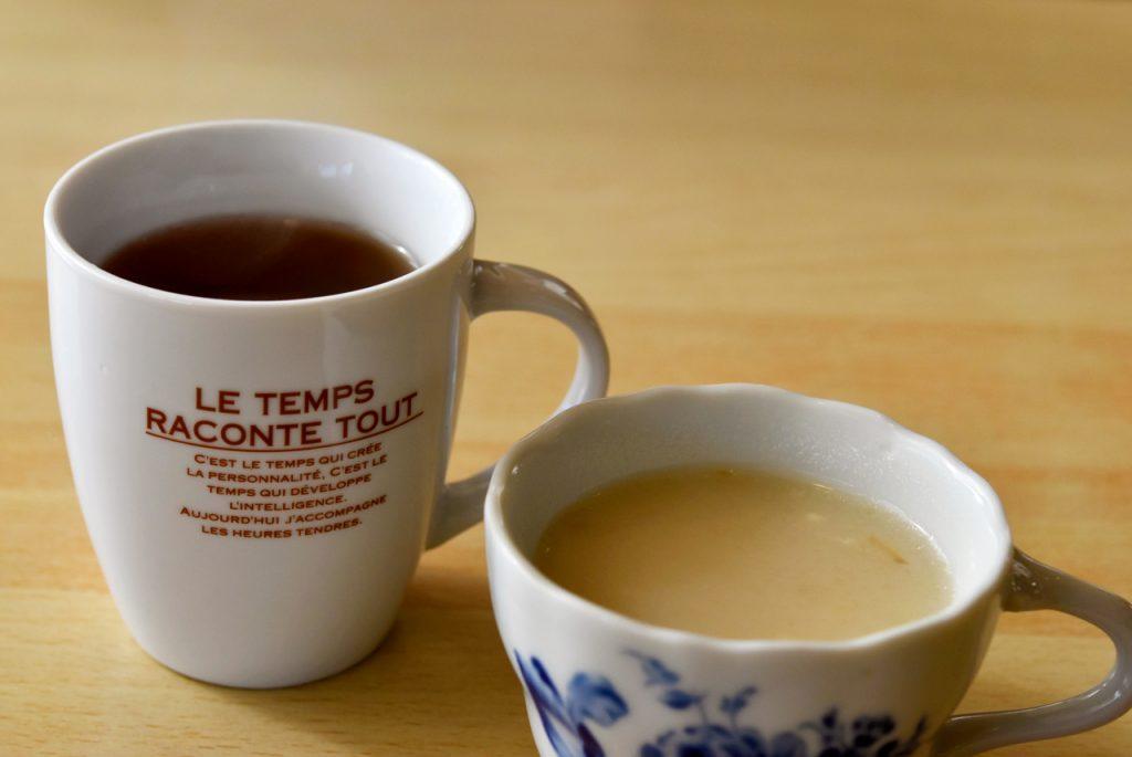 チキンスープ ホットウーロン茶