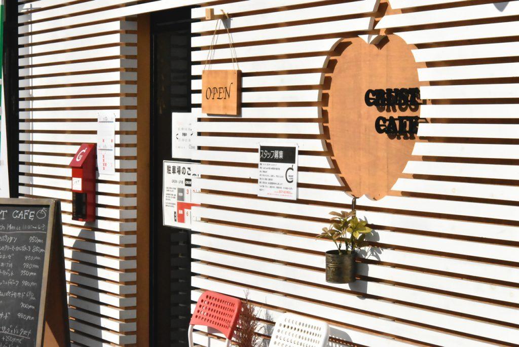クラストカフェ 入口