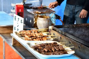 牛串 豚串 タン串