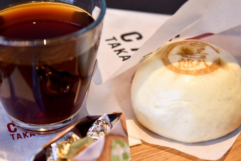 喜八郎牛まん(飛騨牛) コーヒー(奥飛騨ブレンド)