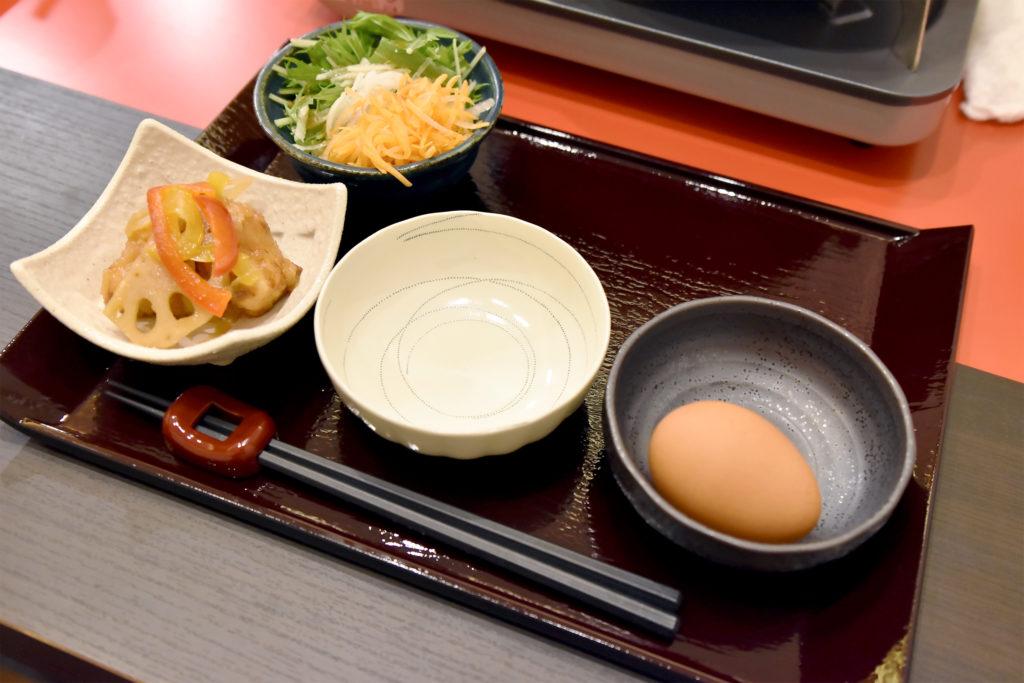 小鉢 生卵 すき焼き しゃぶ康